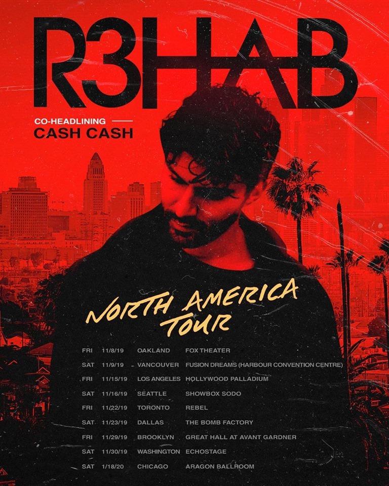 R3HAB tour