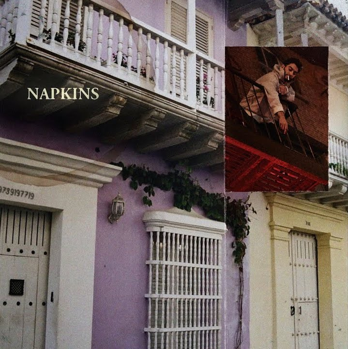"RIZ LA VIE - ""Napkins"" cover"