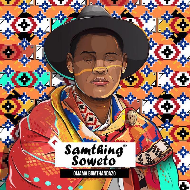 """Samthing Soweto - """"Isphithiphithi"""" cover art"""