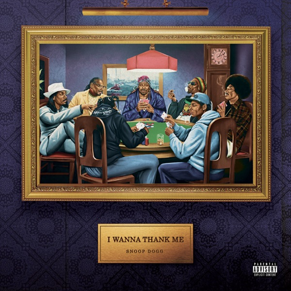 "Snoop Dogg ""I Wanna Thank Me"" album cover"
