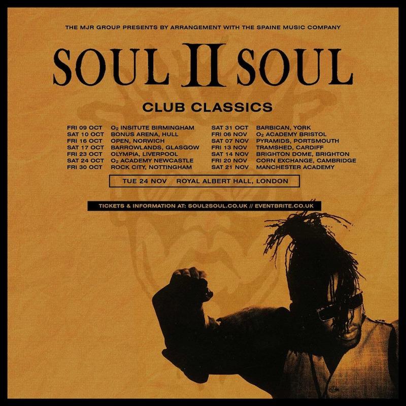 Soul II Soul Club Classics Tour 2020