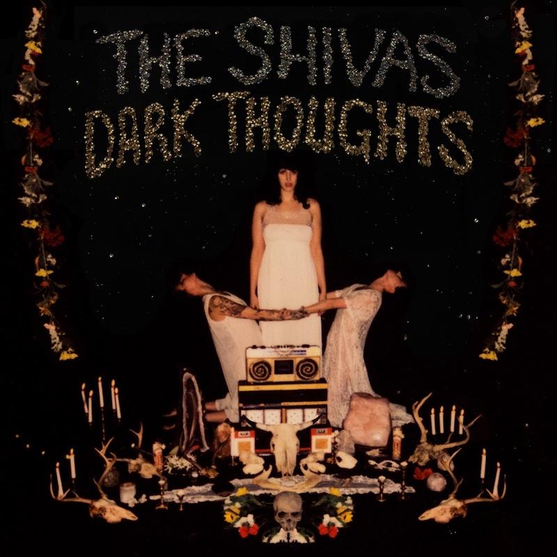 "The Shivas - ""Dark Thoughts"" album cover"