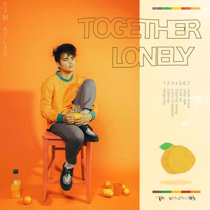 """Tim Atlas - """"Together Lonely"""" EP cover"""