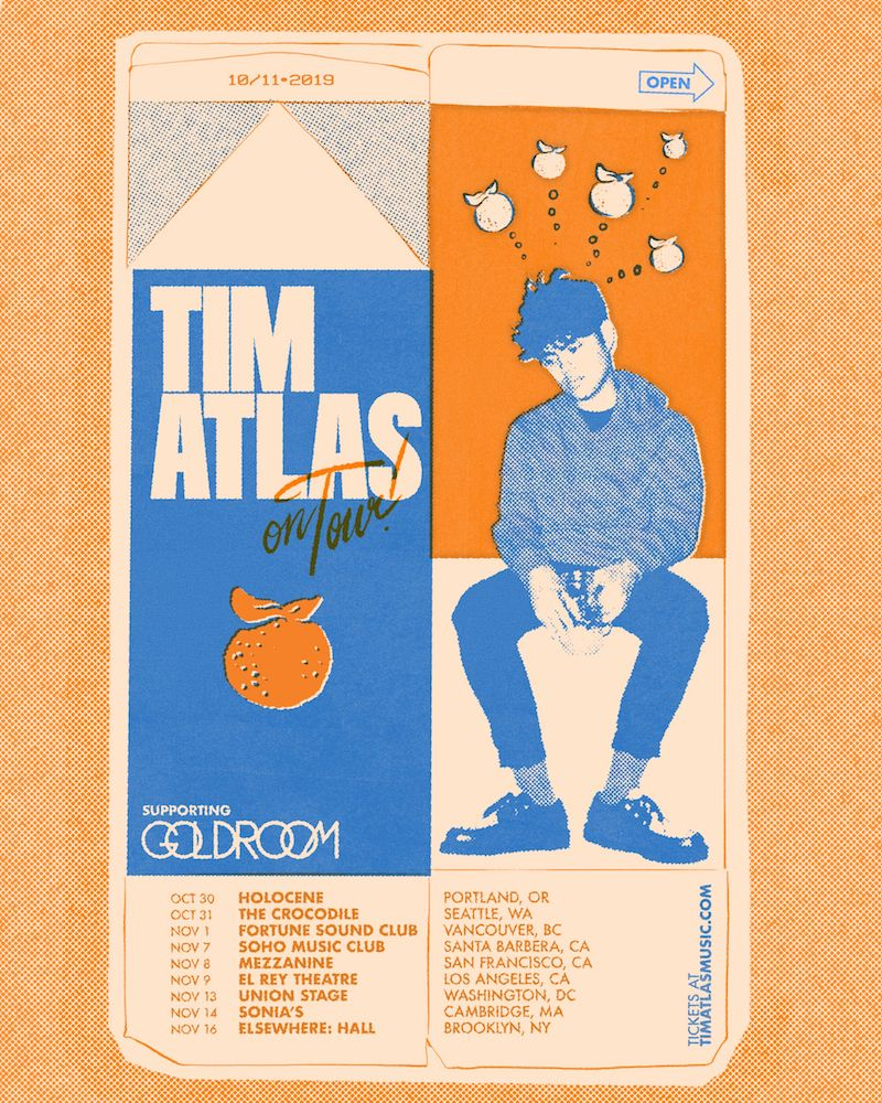 Tim Atlas on Tour supporting Goldroom