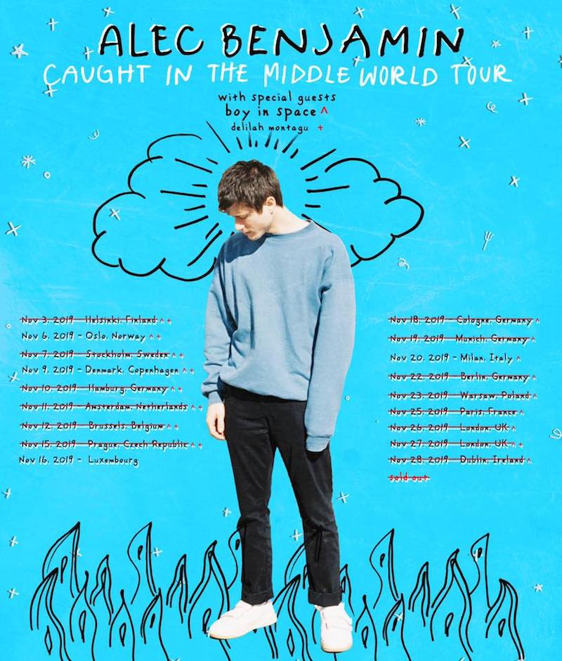 Boy In Space Tour with Alec Benjamin