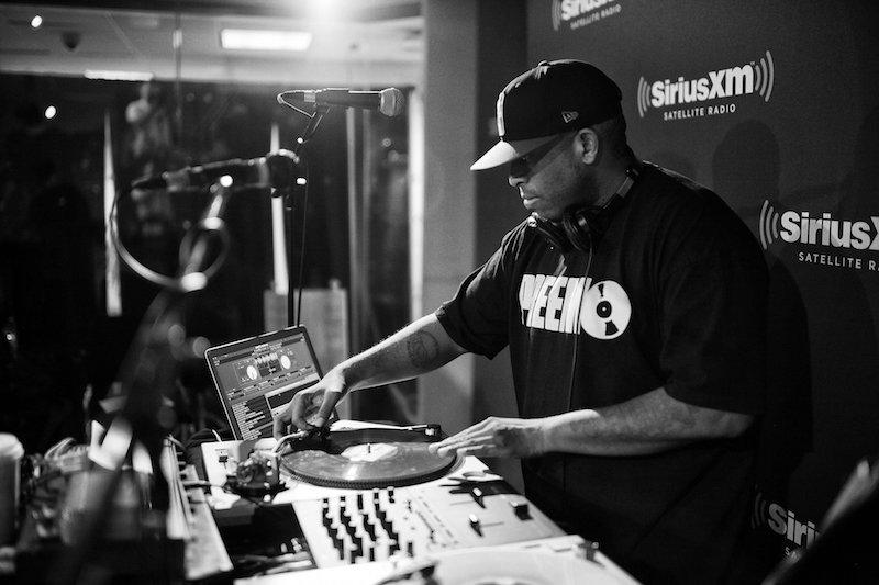 DJ Premier working