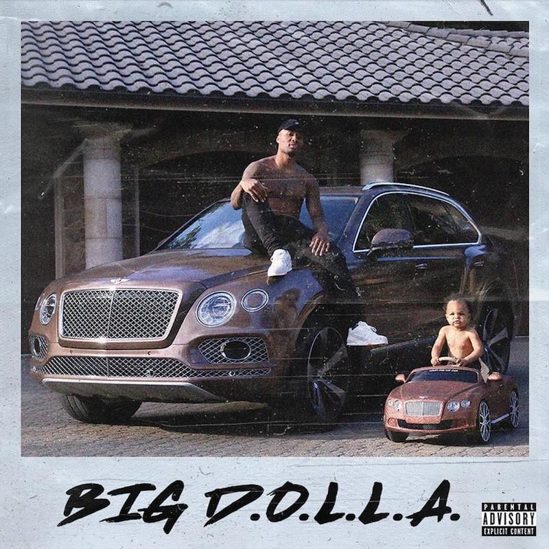 "Dame D.O.L.L.A. - ""BIG D.O.L.L.A."" cover"