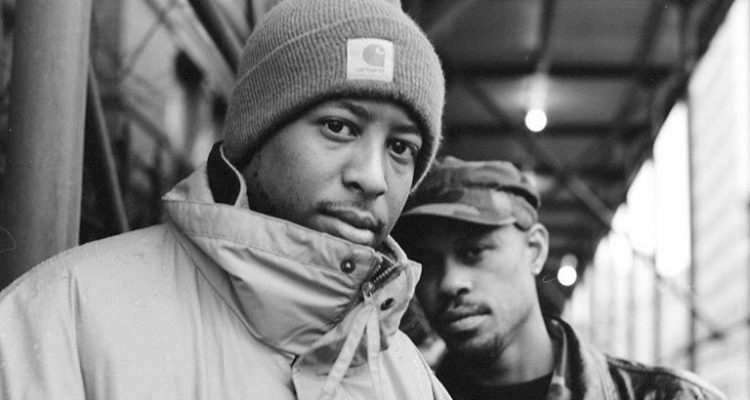 Gang Starr press photo by Chimodu