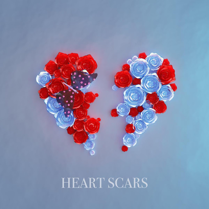 """Jeremy Pascal - """"Heart Scars"""" cover"""