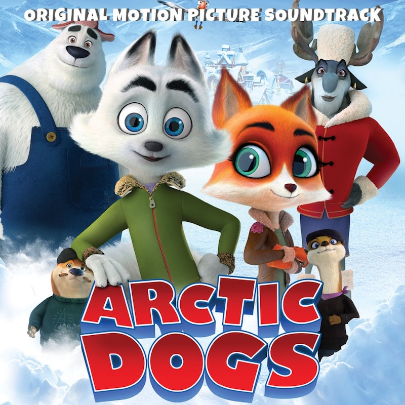 """Jeremy Renner - """"Arctic Dogs (Original Motion Picture Soundtrack)"""" cover"""