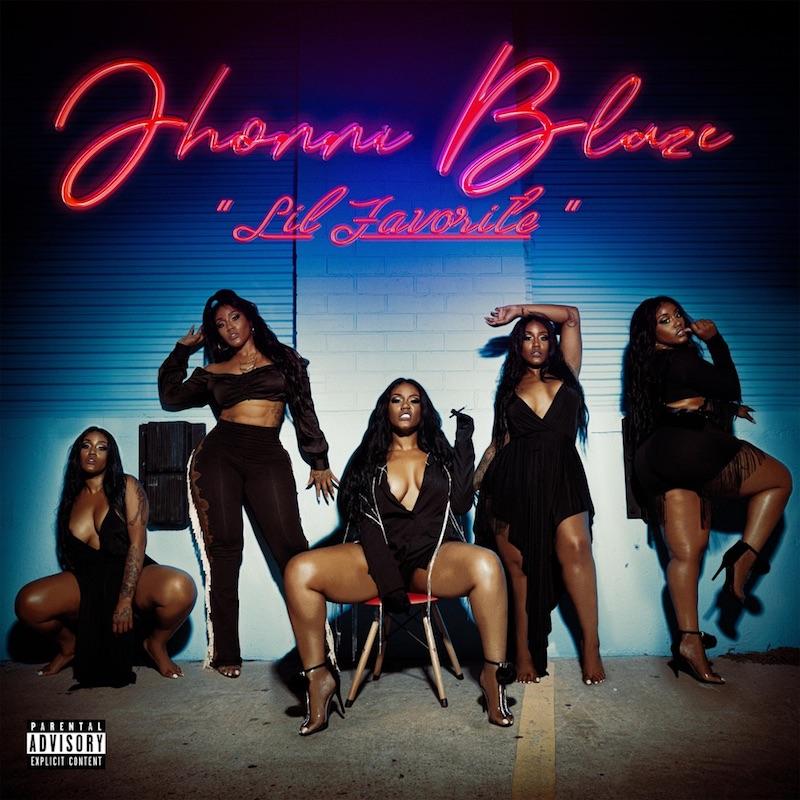 Jhonni Blaze - 'Lil Favorite' cover