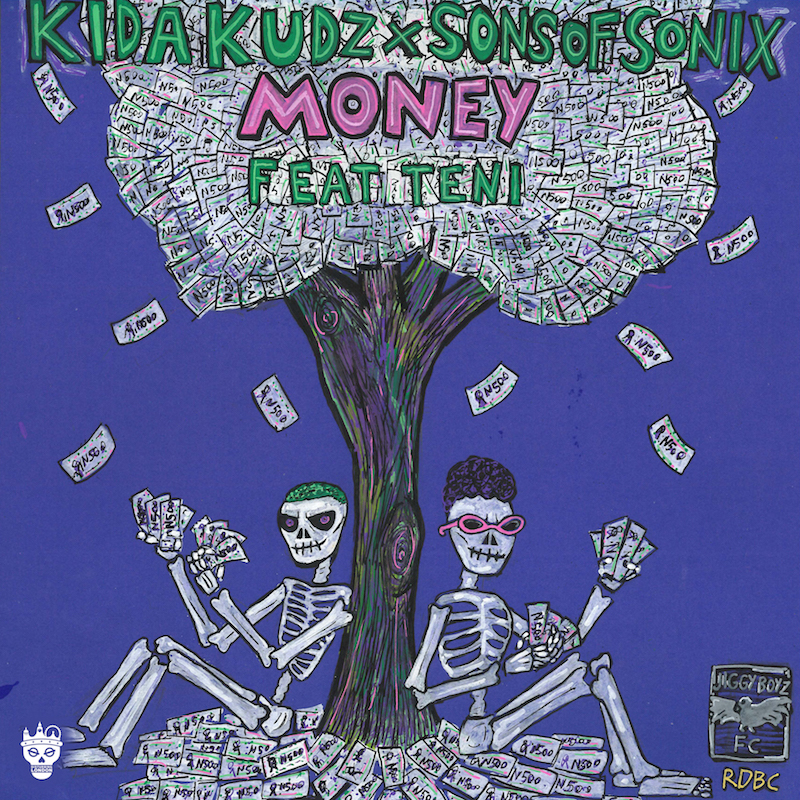 "Kida Kudz & Sons of Sonix - ""Money"" cover"