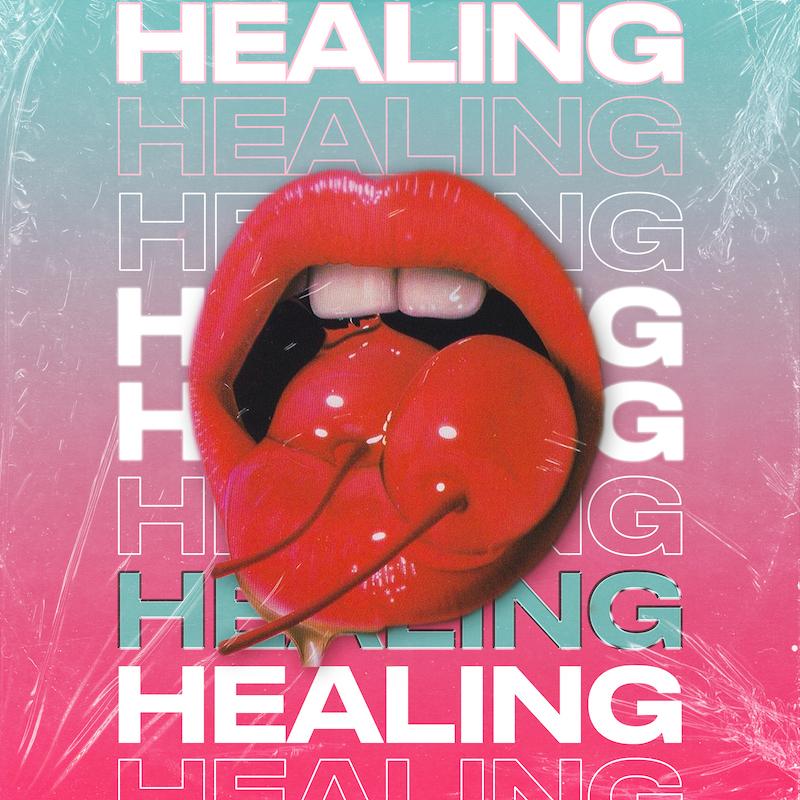 La Felix + glasscat - Healing artwork