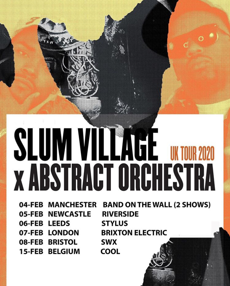 Abstract Orchestra & Slum Village tour