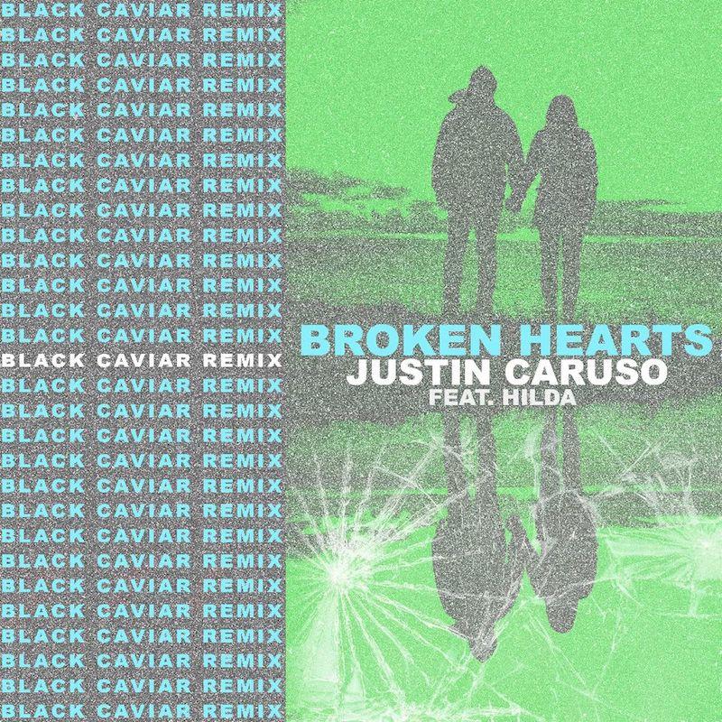 Justin Caruso & Black Caviar - Broken Hearts (feat. Hilda) [Black Caviar Remix] cover