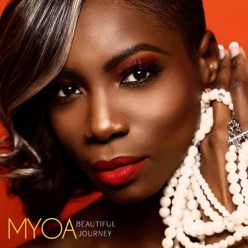 "Myoa - ""Beautiful Journey"" album cover"