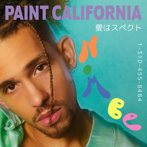 "NoMBe ""Paint California"" cover"