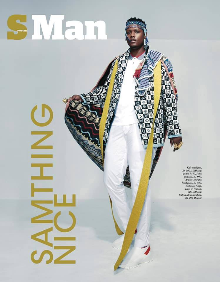 The Sowetan newspaper celebrates Samthing Soweto's 2019 success by featuring him on their Sowetan Magazine (SMag) #SMan cover