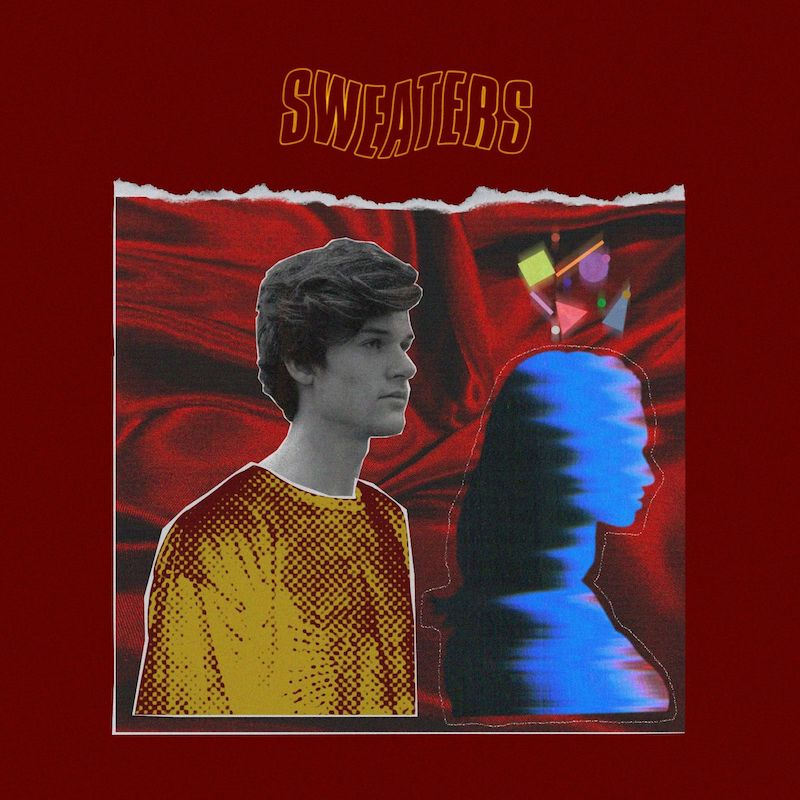 """Blanks - """"Sweaters"""" cover"""