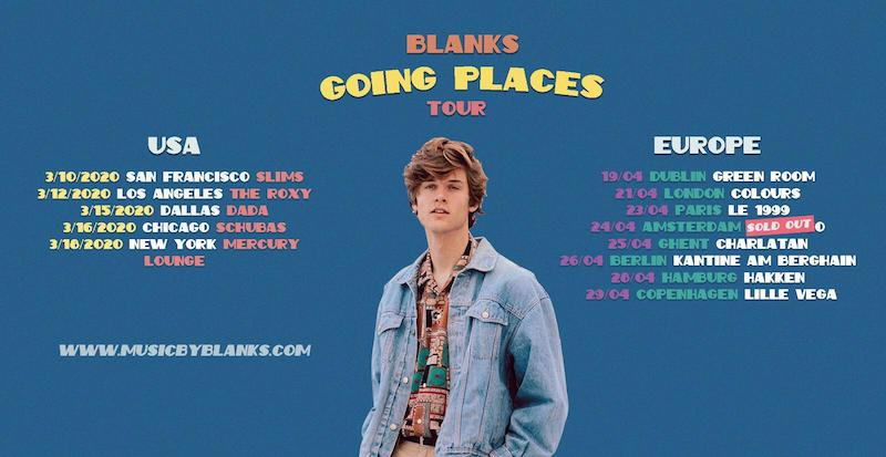 Blanks Going Places tour banner
