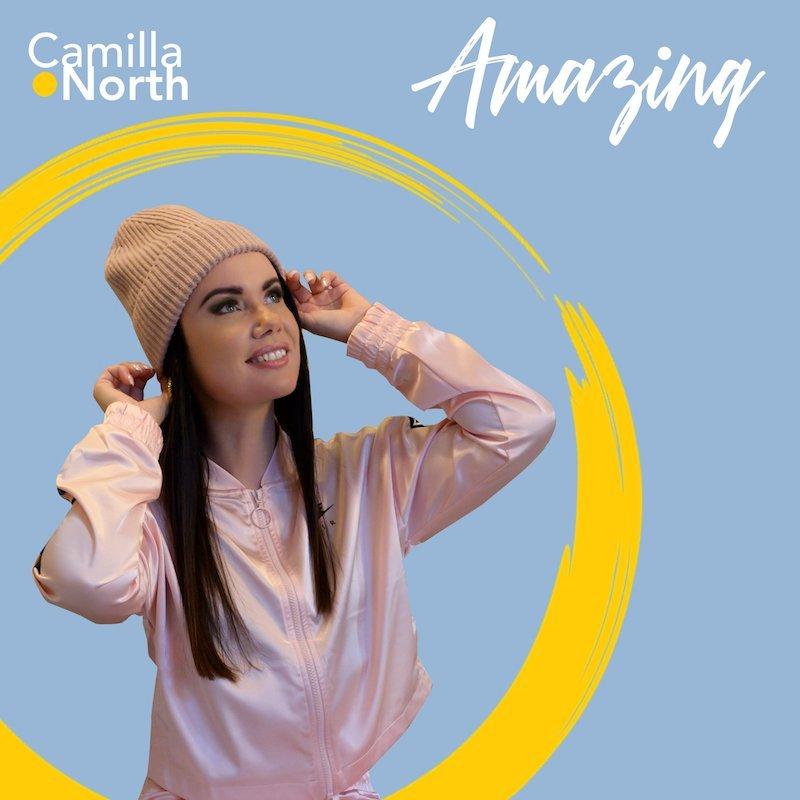 """Camilla North - """"Amazing"""" cover"""