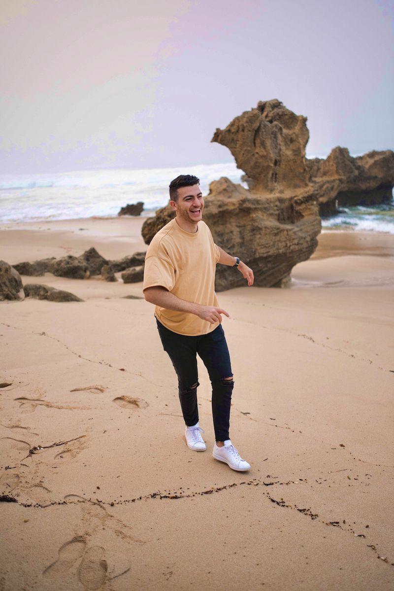 Carda press photo (beach)