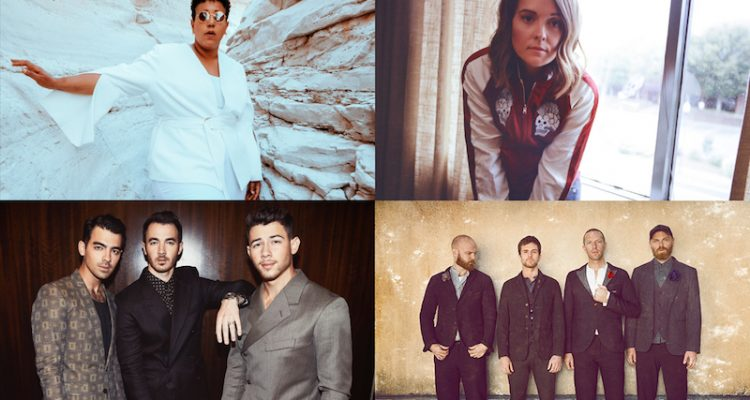 Coldplay, Brittany Howard, Brandi Carlile, and the Jonas Brothers photo