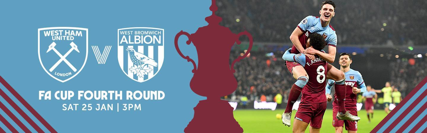FA Cup 4th Round - West Ham United v West Bromwich Albion