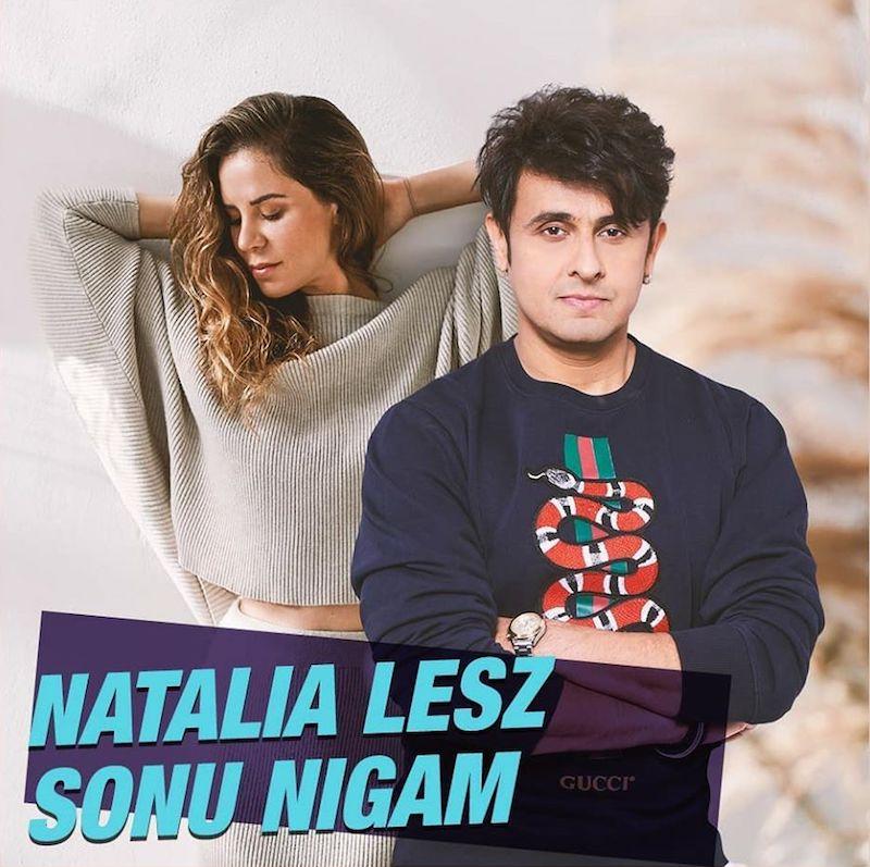 """Natalia Lesz & Sonu Nigam - """"Fire in the Sky"""" cover"""