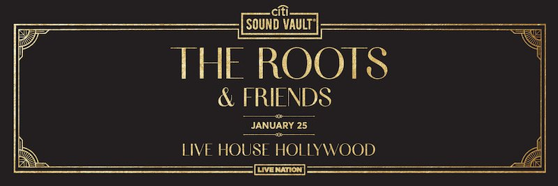 The Roots & Friends banner