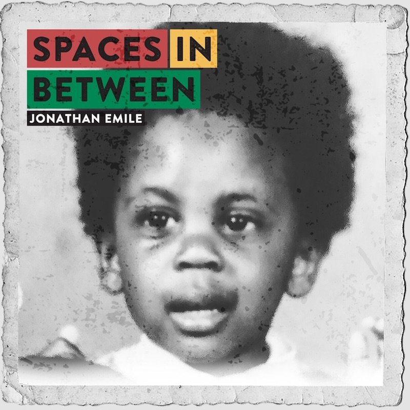"""Jonathan Emile - """"Space-in-Between"""" cover"""