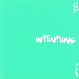 "Justin Bieber - ""Intentions"" single cover"