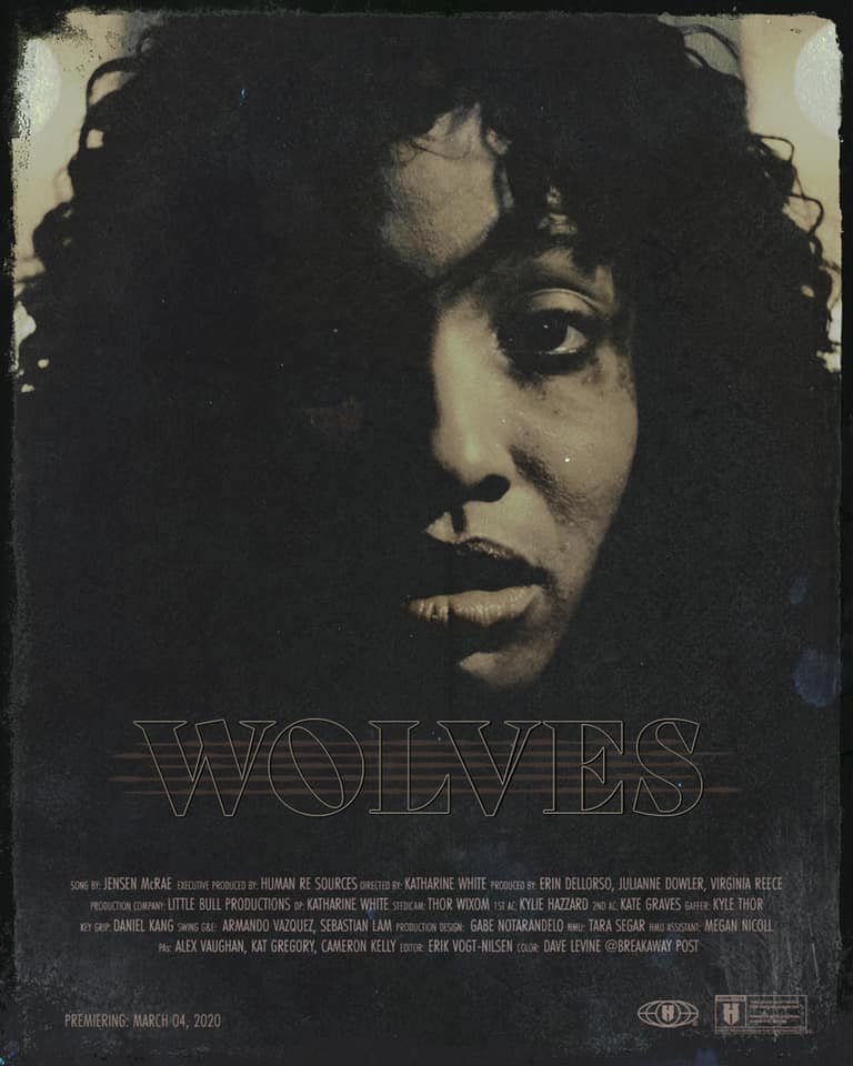 "Jensen McRae – ""Wolves"" poster"