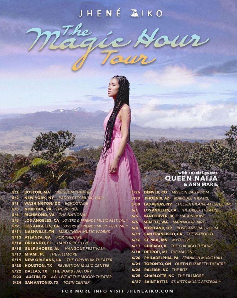 Jhené Aiko - The Magic Hour tour