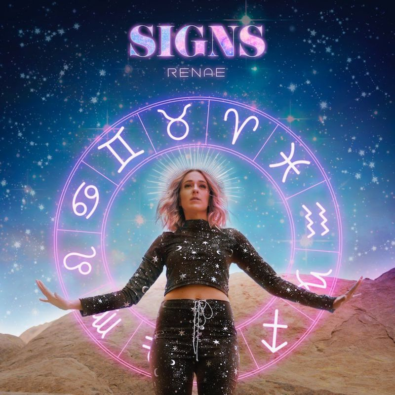 "RENAE - ""Signs"" cover"