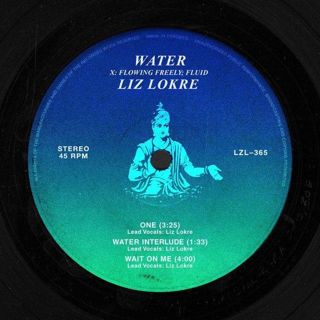 "Liz Lokre - ""Water EP cover"