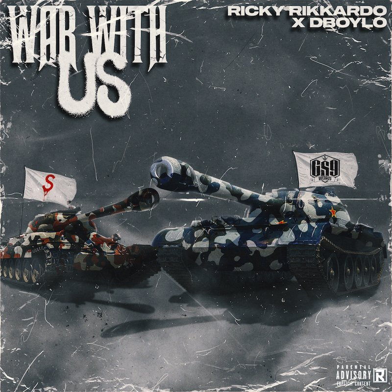 """Ricky Rikkardo & Dboy Lo - """"War With Us"""" cover"""