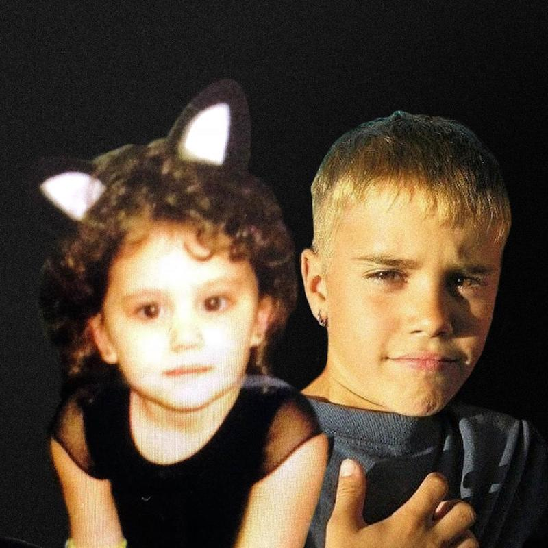 "Ariana Grande - ""Stuck with U"" Justin Bieber photo"