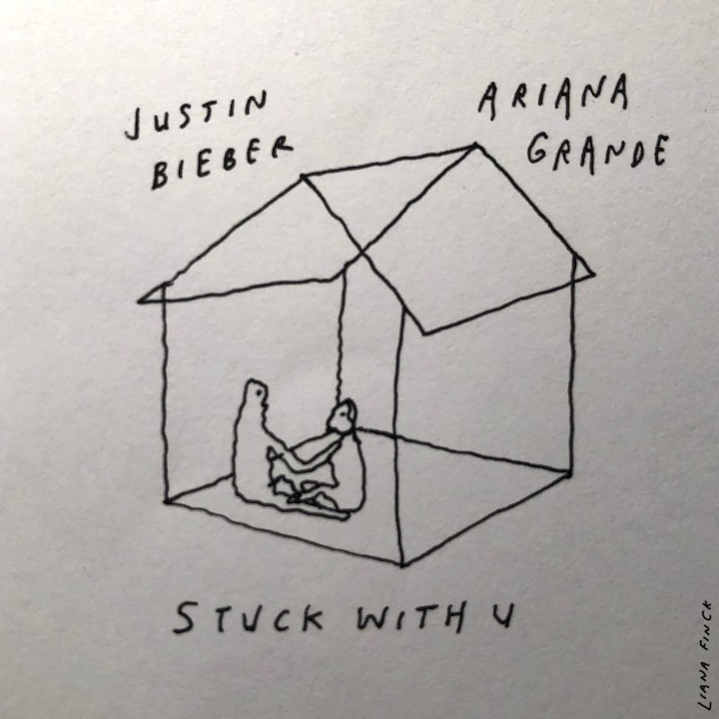 "Ariana Grande & Justin Bieber - ""Stuck with U"" cover"