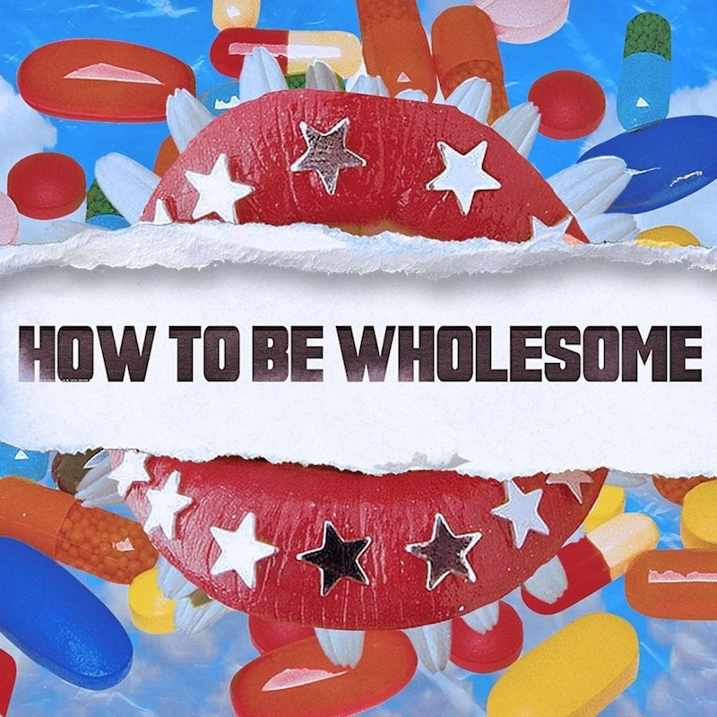 """Holograph - """"How To Be Wholesome"""" cover"""