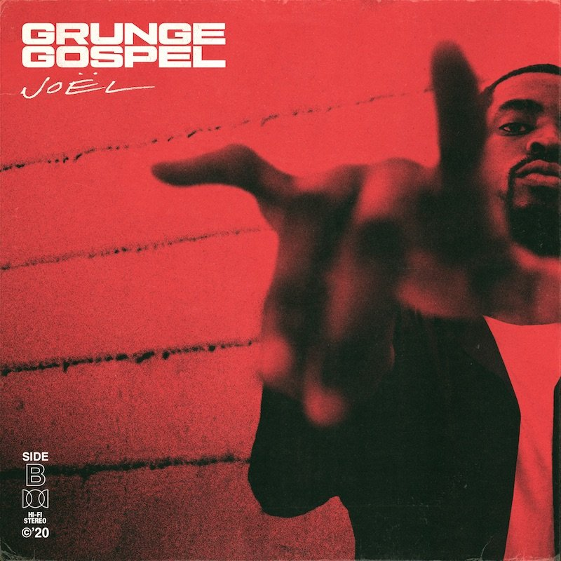 "Joël - ""GRUNGE GOSPEL (Side B)"" EP cover"