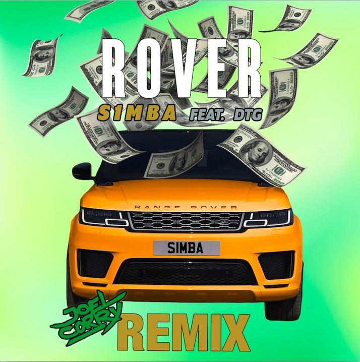 "S1MBA – ""Rover (Joel Corry Remix)"" cover"
