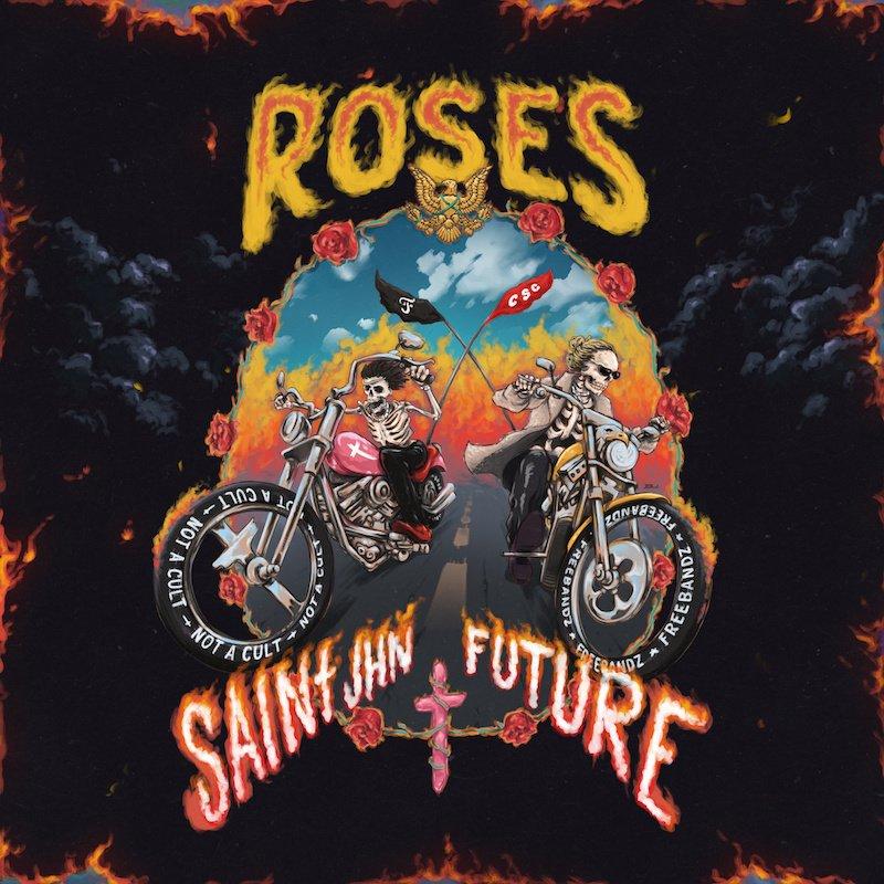 "SAINt JHN - ""Roses (Imanbek Remix)"" cover"