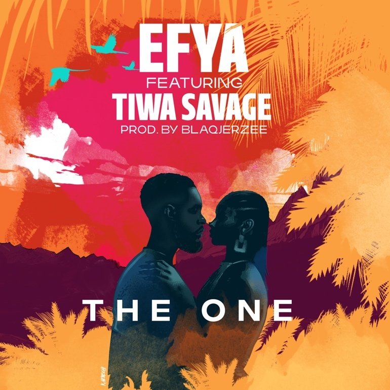 """Efya - """"The One"""" cover"""