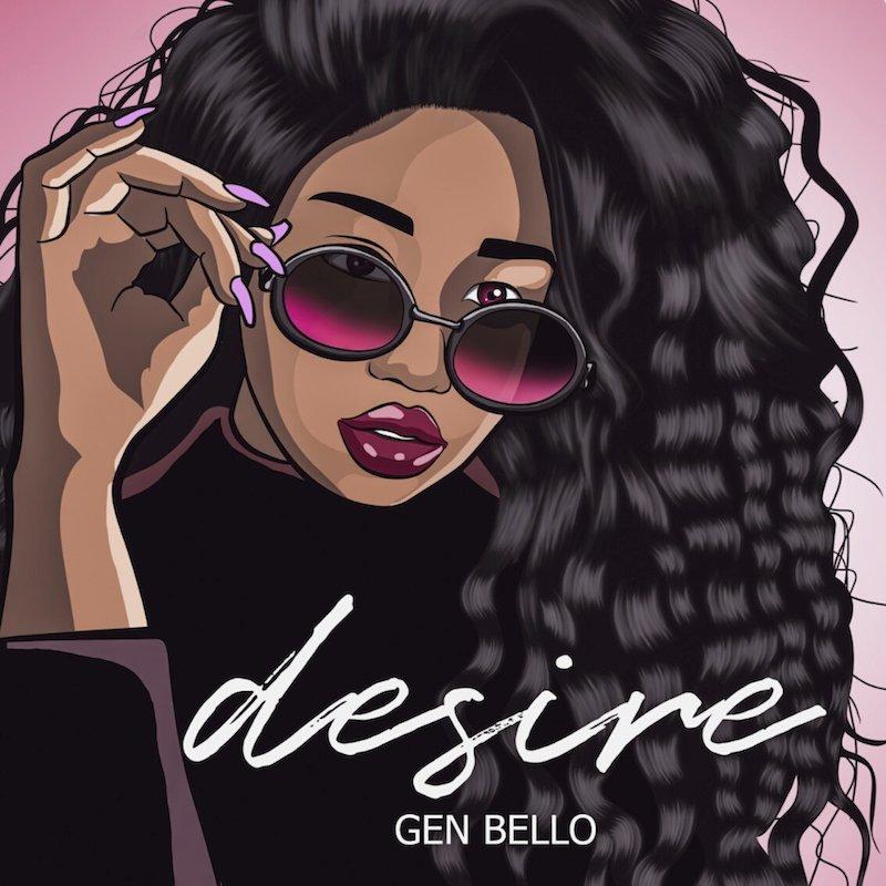 """Gen Bello - """"Desire"""" cover art"""