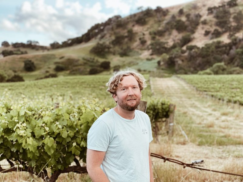 John Brazell press photo outdoors