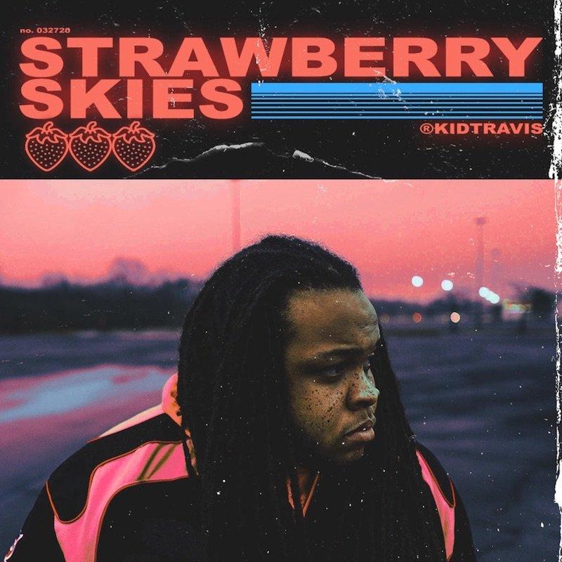 "Kid Travis - ""Strawberry Skies"" EP cover"