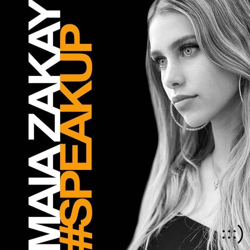 "Maia Zakay - ""#Speakup"" album cover"