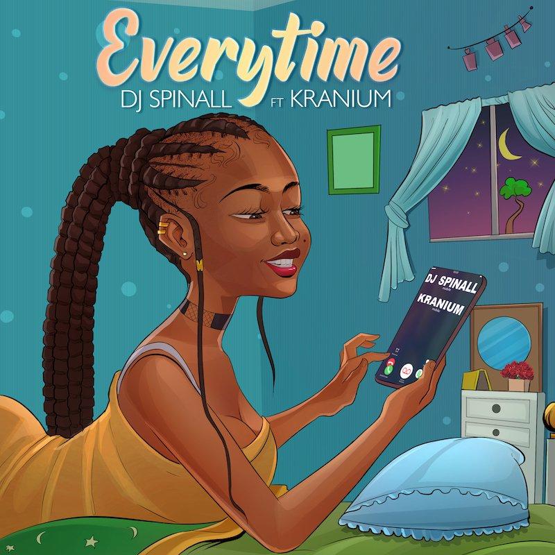 "DJ Spinall - ""Everytime"" cover art"