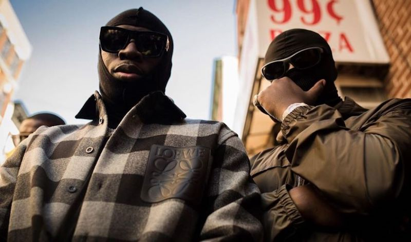 G4 BOYZ press photo with sunglasses